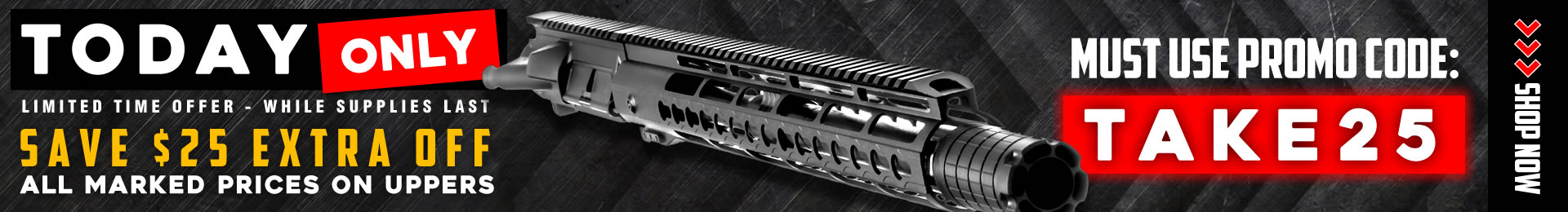 AR-15 Upper Assembly & AR Pistol Deals