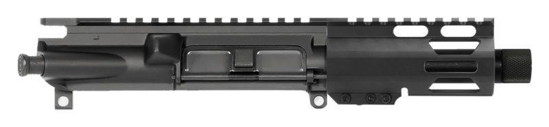 "AR-9 AR Pistol Upper Assembly 4"" with 4"" M-LOK Thread Protector"