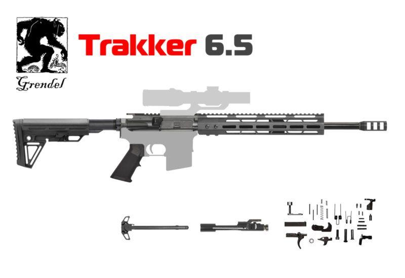 AR-15 Trakker 6.5 Grendel AR Rifle Kit