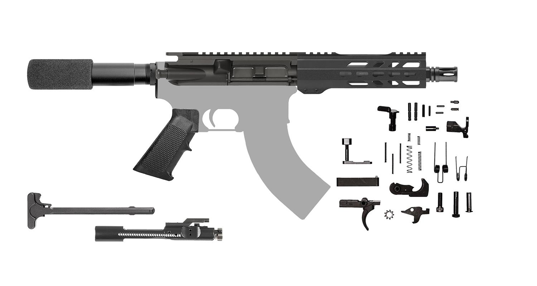 Ar15 Pistol Kit 7 5 Inch 7 62 39 1 10 Twist Keymod 205730 Cbc Precision Ar S
